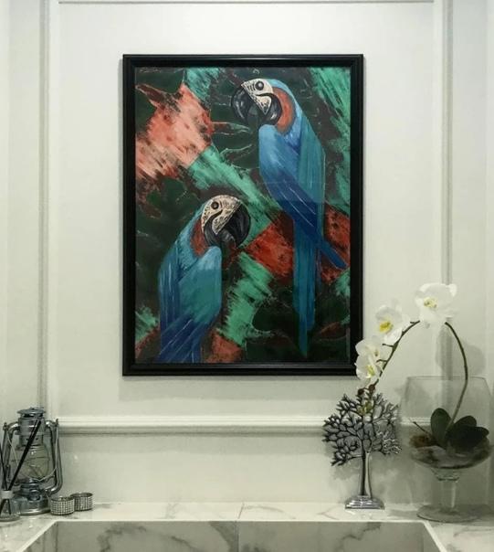 Прием для ванной комнаты: Картина в ванной комнате -...