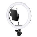 Селфи лампа с держателем для телефона (D-20см)