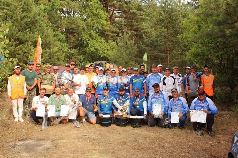 Пензенские рыбаки — призеры Кубка Республики Мордовия по ловле на донку