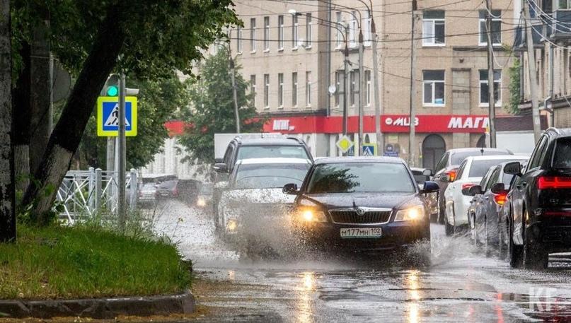 В Татарстане новая неделя начнётся с жары в +27 градусов и грозы
