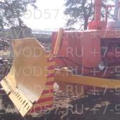 Отвал бульдозерный гидроповоротный для трактора ДТ-75, 2 гц подъема, 2 гц поворота