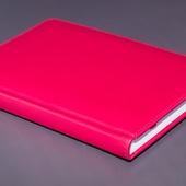 Ежедневник недатированный A5 розовый