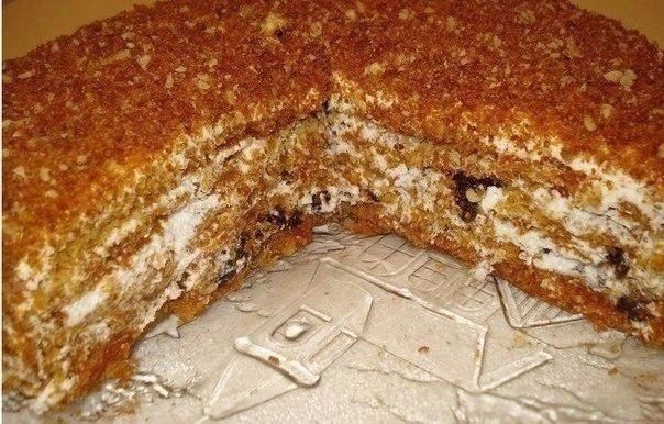 """Медовый торт """"Особенный"""". Самый вкусный на свете медовик!;"""