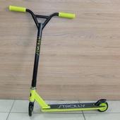Трюковой Самокат STROLLY STR-036 (2021) Зеленый