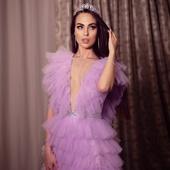 "Платье ""Lilac ruffle"""