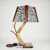Авторский деревянный светильник DIMATI, Арт: D-033