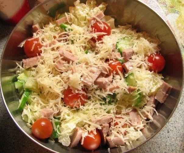 Подборка очень вкусных и быстрых салатиков! На заметку!