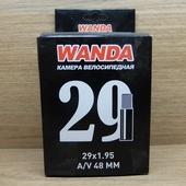 """Камера велосипедная 29""""х1,95/2.125 WANDA"""