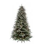Новогодняя елка Triumph Tree Нормандия Пушистая 155 см 136 ламп заснеженная