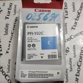Картридж CANON PFI-102C, голубой