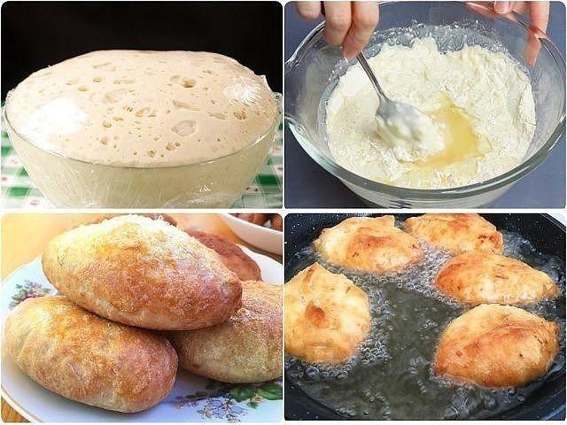 Потратьте 5 минут и приготовьте это дрожжевое тесто. Гoтовить из него можно пиро...