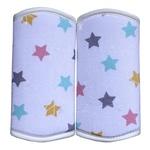 Накладки для обсасывания на лямки эргорюкзака, хипсита Sinbii Spit spot,звезды
