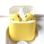 Airpods 2 Yellow желтые