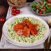 Лечо из болгарского перца с кускусом 250 г