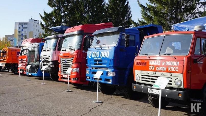 КАМАЗ планирует перевести транспорт на водород