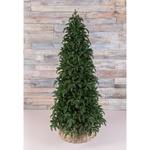 Новогодняя елка Triumph Tree Нормандия стройная 155 см темно-зеленая