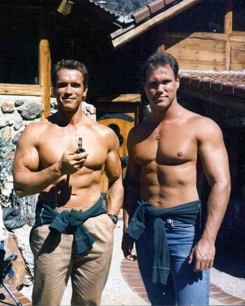 Арнольд Шварценеггер и его дублёры ???? Уровень тестостерона...