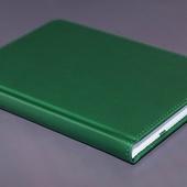 Ежедневник недатированный A5 зеленый