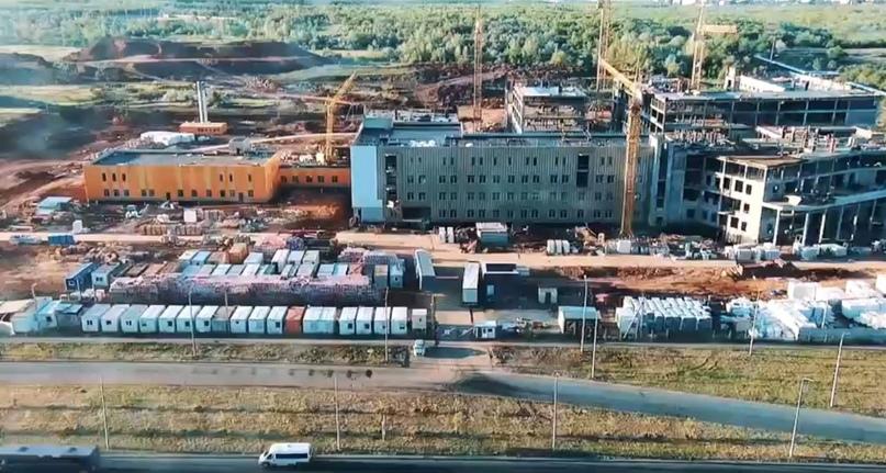 В минстрое рассказали о строительстве детской больницы на Гаранькина
