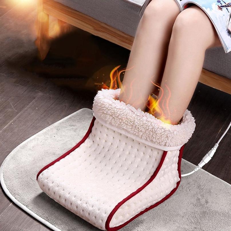 Электрическая грелка для ног. Температура регулируется.