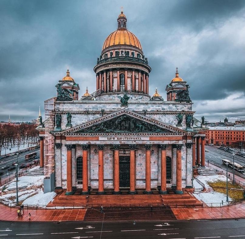 Легенды Исаакиевского собора
