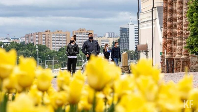 В Татарстане в ближайшие дни потеплеет до +27 градусов