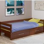 Кровать Глория с ящиками 900х2000 (Орех)