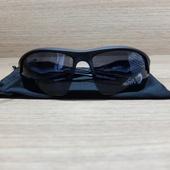"""Очки спортивные """"Мастер К"""" UV400, черная оправа, тёмная линза"""