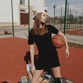 Платье-поло «ЛСП Black»
