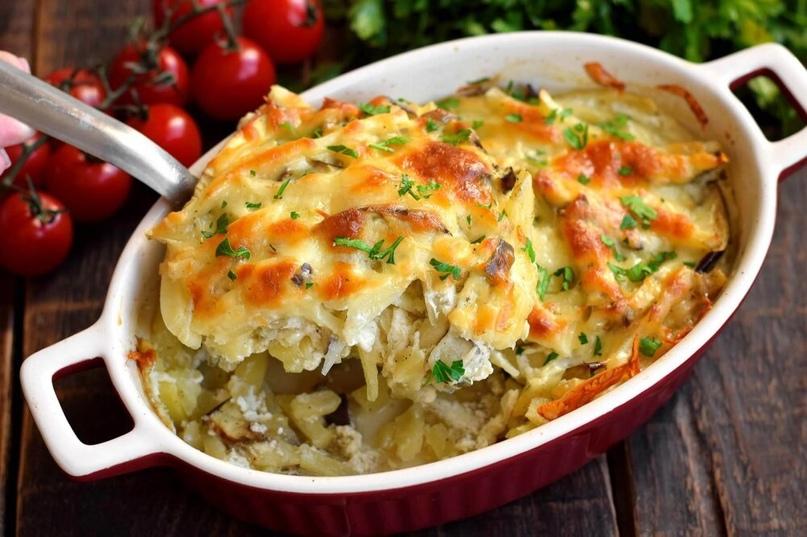 Предлагаем рецепт овощной запеканки из баклажанов и картофеля. Такую запеканку м...
