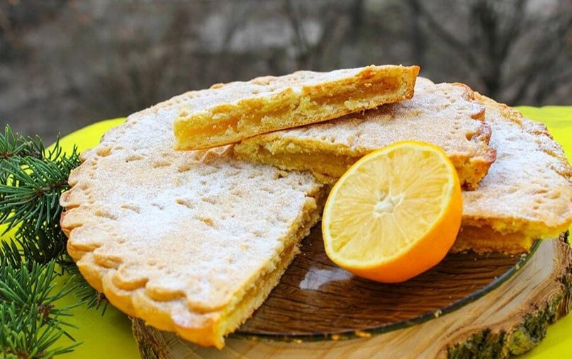 Лимонный пирог из детства 🍋