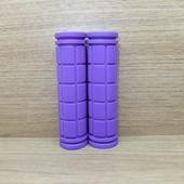 Грипсы (ручки) цветные универсальные. (1пара) Фиолетовые