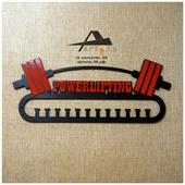 Медальница Powerlifting Штанга