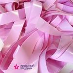 Нежно-розовая мягкая плёнка