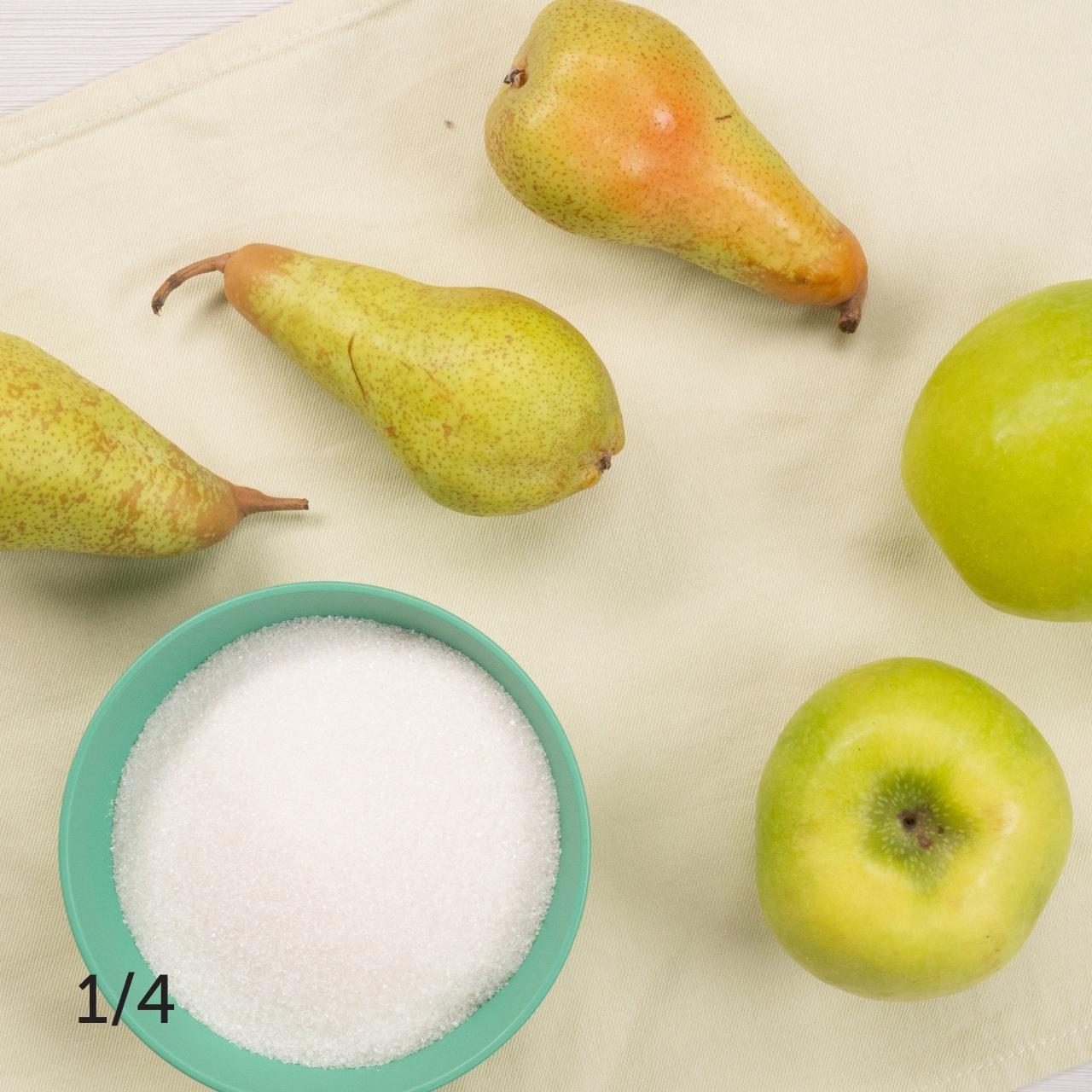 Варенье из яблок и груш 🍏🍐