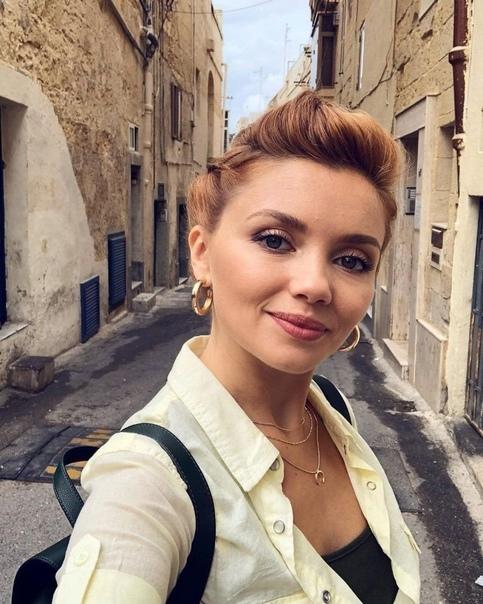 Самая красивая рыжеволосая актриса России ????