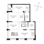 4-комнатная 125,52 кв. м