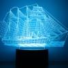 3D Светильники 3Д Лампы Ночники Фотосветильники