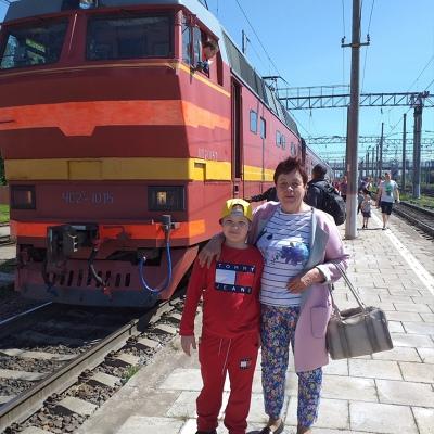 Нина Рослякова, Шенкурск