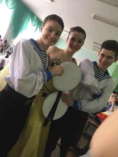Настуня Гуска, Киев