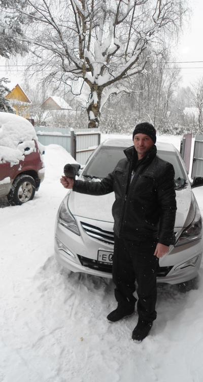Сергей Андрущенко, Хвойная