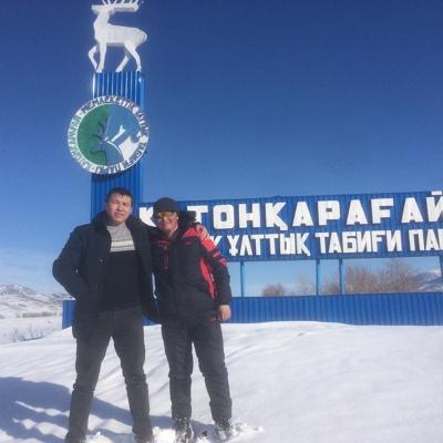 Жандос Толепбергенов, Алматы
