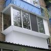 Остекление лоджий  и балконов в Череповце